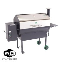 Jim Bowie Stainless Steel Grill Wifi Enabled